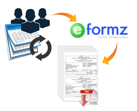 How To Generate Subscription Invoicing Using Eformz